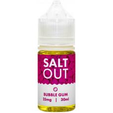 Жидкость Salt Out 30 мл Bubblegum 25 мг/мл