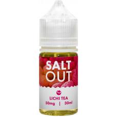 Жидкость Salt Out 30 мл Lichi Tea 50 мг/мл