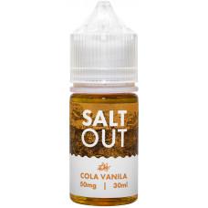 Жидкость Salt Out 30 мл Cola Vanila 50 мг/мл