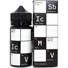 Жидкость Chemistry 100 мл Milk Elements 3 мг/мл