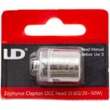 Испаритель UD Zephyrus Clapton OCC 0.6 Ом 20-50W (Органический хлопок)