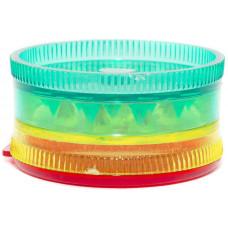 Гриндер 3 эт. пластик Rasta 4 см (Измельчитель) 431101