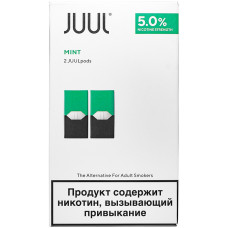 Картридж JUUL Mint 2-Pack 0.7 мл 50 мг