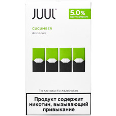 Картридж JUUL Cucumber 4-Pack 0.7 мл 50 мг