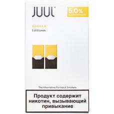 Картридж JUUL Vanilla 2-Pack 0,7 мл 50 мг