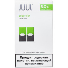 Картридж JUUL Cucumber 2-Pack 0.7 мл 50 мг