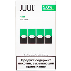 Картридж JUUL Mint 4-Pack 0.7 мл 50 мг
