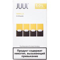 Картридж JUUL Vanilla 4-Pack 0,7 мл 50 мг