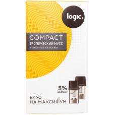 Logic Compact Pods Тропический мусс 5% 1.6 мл JTI Картридж Капсулы 2 шт