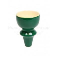 Чашка внутренняя глубокая зеленая MYA 740100 (для табака)