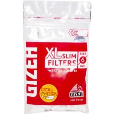 Фильтры для самокруток GIZEH XL Slim Filters 6 мм 100 шт