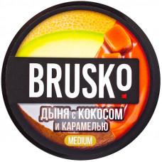 Смесь Brusko 50 гр Medium Дыня Кокос Карамель (кальянная без табака)
