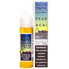 Жидкость Pachamama 60 мл Huckleberry Pear Acai 3 мг/мл Фруктовая смесь