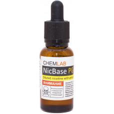 Основа Nic Base 30 мл 100 мг/мл Бустер концентрат в PG никотин Германия