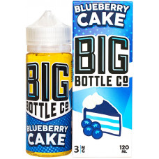 Жидкость Big Bottle Co 120 мл Blueberry Cake 3 мг/мл