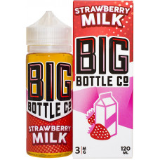 Жидкость Big Bottle Co 120 мл Strawberry Milk 3 мг/мл