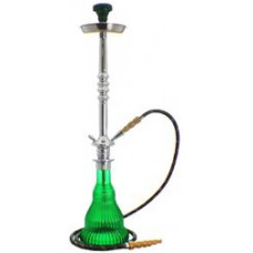Кальян MYA колба акриловая зеленая, трубка с охлаждением S524242 С h=75 см