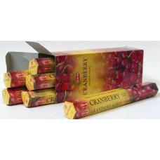 Благовония HEM Клюква Cranberry Аромапалочки Неха