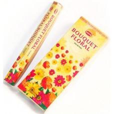 Благовония HEM Цветочный Букет Flora Bouguet Аромапалочки Hexa