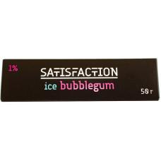Смесь Satisfaction 50 гр Ice Bubblegum 1% Жевательная резинка
