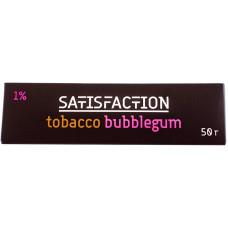 Кальянный Satisfaction 50 гр Bubblegum+Tobacco 1% Жевательная резинка