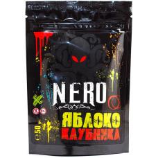 Смесь NERO 50 г Яблоко Клубника (кальянная без табака)