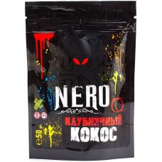 Смесь NERO 50 г Клубничный Кокос (кальянная без табака)