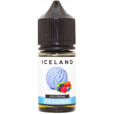 Жидкость Iceland Salt 30 мл Mix Berries 20 мг/мл