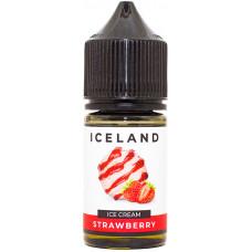 Жидкость Iceland Salt 30 мл Strawberry 20 мг/мл