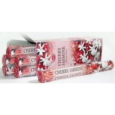 Благовония HEM Вишня Жасмин Cherry Jasmine Аромапалочки Hexa