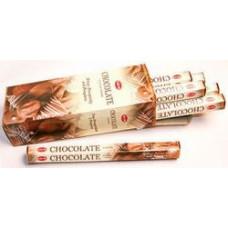 Благовония HEM Шоколад CHOKOLATE Аромапалочки Hexa