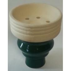 Чаша внешняя с внешней резьбой зеленая MYA 759200