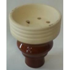 Чаша внешняя с внешней резьбой коричневая MYA 759200