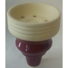 Чашка внутренняя с внешней резьбой розовая MYA 759100 (для табака)