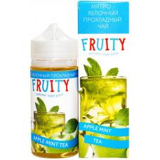 Жидкость Fruity 100 мл Мята Яблочный Чай 0 мг