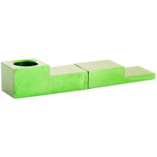 Трубка метал Магнит Зеленая L=8 см Click Pipe YD005