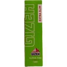 Бумага сигаретная GIZEH Extra Slim Super Fine Cut Corners (скошенный угол) 100 листов
