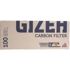 Гильзы сигаретные GIZEH Угольный фильтр 100 шт