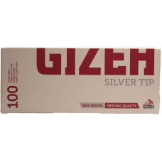 Гильзы сигаретные GIZEH Silver с фильтром 100 шт